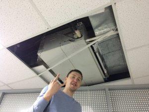 как выглядит ремонт вентиляционных систем в Киеве? Фото ОНВЕКС ООО 2018 год